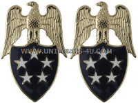 U.S. ARMY AIDE TO THE GENERAL OF THE ARMY COLLAR INSIGNIA