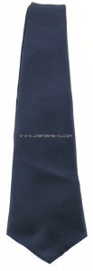 air force uniform blue tie four-in-hand Herringbone