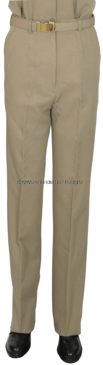 US NAVY FEMALE SUMMER KHAKI CNT PANTS
