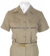 US NAVY FEMALE KHAKI CNT SHIRT