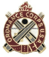 U.S. ARMY ORDNANCE CORPS REGIMENTAL DISTINCTIVE INSIGNIA