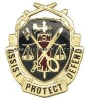 U S  ARMY MILITARY POLICE REGIMENTAL DISTINCTIVE INSIGNIA