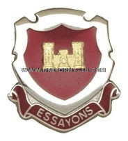 essayons unit crest Providence, rhode island is the largest manufacturer and distributor of united  states military decorations, medals, insignia and uniform related accessories.