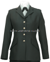 US ARMY FEMALE OFFICER/ENLISTED CLASS A GREEN COAT