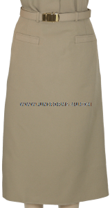 U.S. NAVY OFFICER/CPO SERVICE KHAKI SKIRT