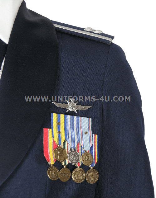 USAF FEMALE OFFICER MESS DRESS