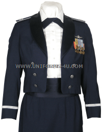 USAF WOMEN'S OFFICER MESS DRESS UNIFORM