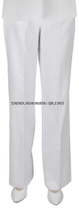 U.S. NAVY / USCG & AUXILIARY / USPHS SERVICE DRESS WHITE SLACKS