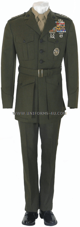 Usmc Service A Uniform 74