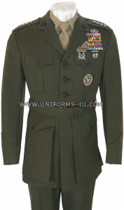 USMC MALE OFFICER SERVICE UNIFORM (