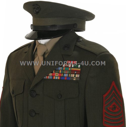 Marines Enlisted Uniform USMC ENLISTED SERVICE ...