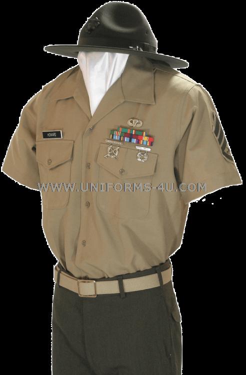 USMC ENLISTED SERVICE DRESS UNIFORM
