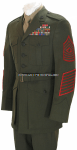 USMC ENLISTED SERVICE DRESS UNIFORM