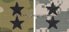 army combat uniform acu major general rank insignia