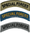 U.S. ARMY SPECIAL FORCES TAB PATCH