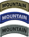 U.S. ARMY MOUNTAIN TAB PATCH