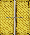 U.S. ARMY 2ND LIEUTENANT EMBROIDERED BULLION RANK INSIGNIA