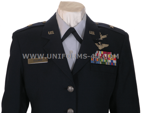 us air force officer service dress uniform