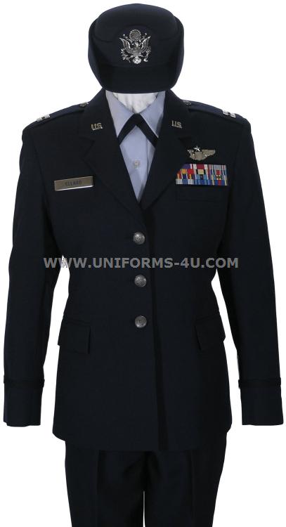 Air force dress uniform female