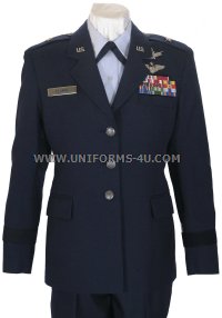 USAF WOMEN'S OFFICER SERVICE DRESS UNIFORM