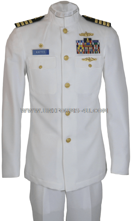 Income tax officer dress whites