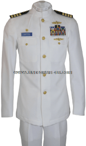 U.S. NAVY MALE OFFICER SERVICE DRESS WHITE UNIFORM