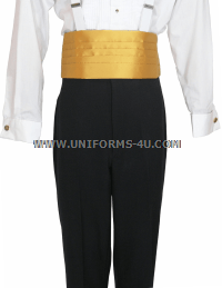 US NAVY EVENING BLUE HIGH-RISE TROUSERS