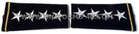 U.S. ARMY GENERAL SHOULDER MARKS