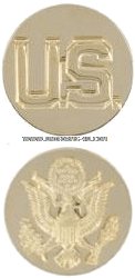 US Army Enlisted Command Sergeant Major Collar Devices