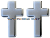 U.S. ARMY CHAPLAIN CORPS CHRISTIAN COLLAR DEVICES
