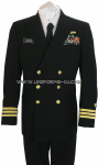 U.S. NAVY MALE OFFICER SERVICE DRESS BLUE UNIFORM