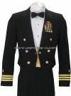 U.S. NAVY MALE OFFICER DINNER DRESS BLUE JACKET UNIFORM