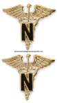 U.S. Army Nurse Corps Collar Devices