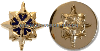 us army officer - military intelligence collar device