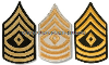 U.S. ARMY FIRST SERGEANT CHEVRONS