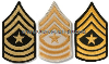 U.S. ARMY SERGEANT MAJOR CHEVRONS