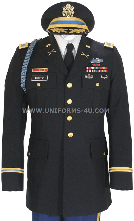 Dress blues for army