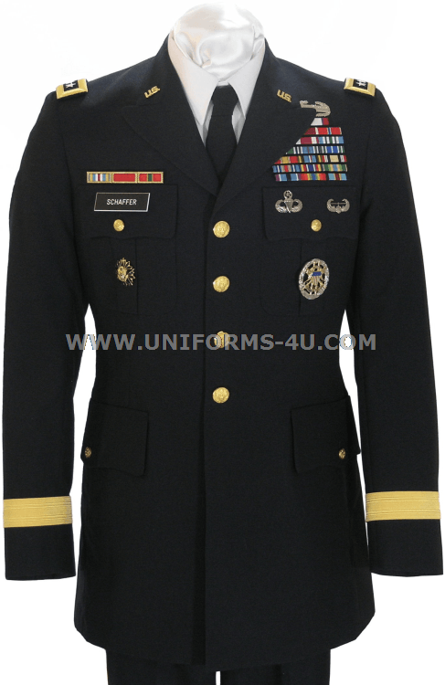 Wear Army Dress Uniform 42