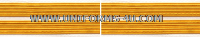 us army service stripe gold on white set of 2 stripes