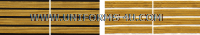 US ARMY SERVICE STRIPE GOLD ON BLUE SET OF 4 STRIPES