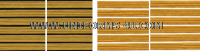 US ARMY SERVICE STRIPE GOLD ON BLUE SET OF 6  STRIPES