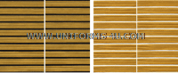 US ARMY SERVICE STRIPE GOLD ON BLUE SET OF 10 STRIPES
