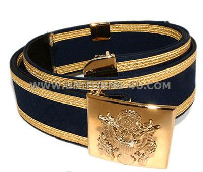 us army dress blue belt color dress style