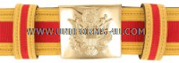 U.S. ARMY ARTILLERY CORPS (FIELD AND AIR DEFENSE) OFFICER'S CEREMONIAL BELT