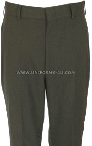 U.S. NAVY OFFICER/CPO AVIATION GREEN TROUSERS