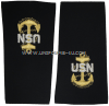 us navy soft shoulder board chief e7