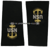 U.S. NAVY SENIOR CHIEF PETTY OFFICER (E8) SOFT EPAULETS