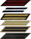 U.S. NAVY SERVICE STRIPES (HASH MARKS) SET OF 2