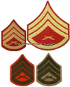 USMC STAFF SERGEANT SEW-ON CHEVRONS