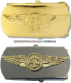 U.S. NAVY NAVAL AIRCREW WARFARE BELT BUCKLE